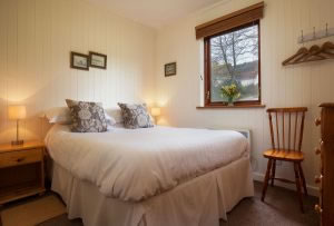 Pine Tree Lodge Double Bedroom