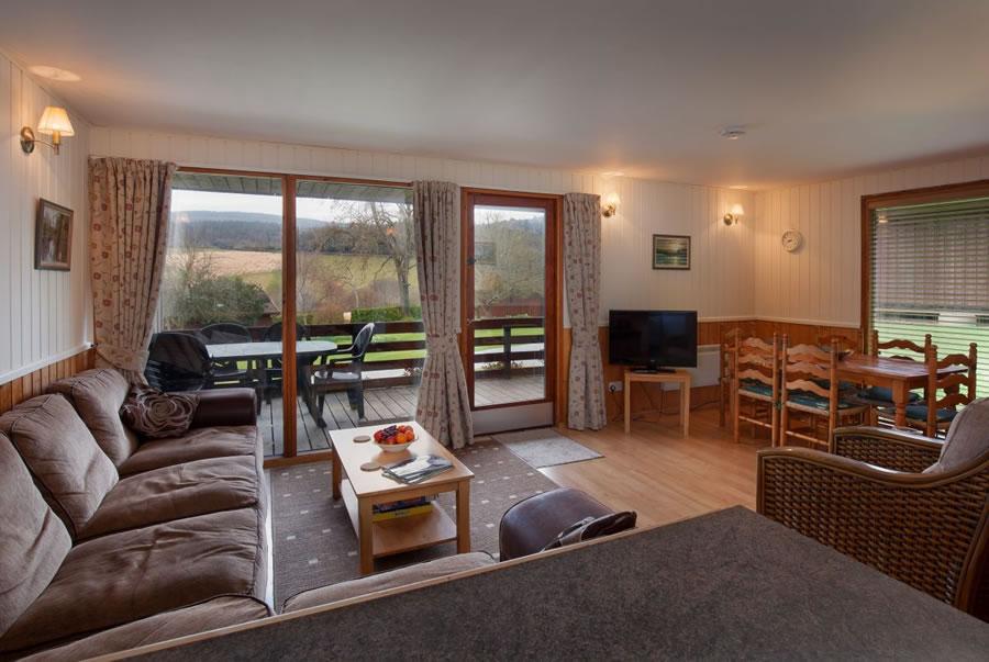 Laburnum Lounge with views