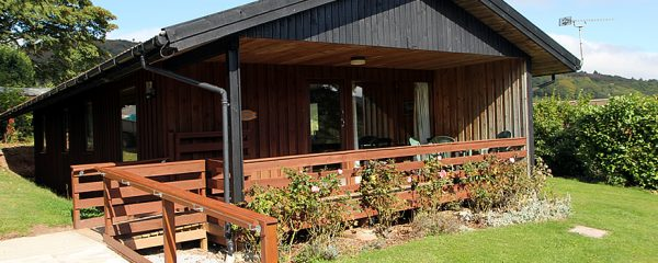 Laburnum Self Catering Lodge in Minehead, Exmoor