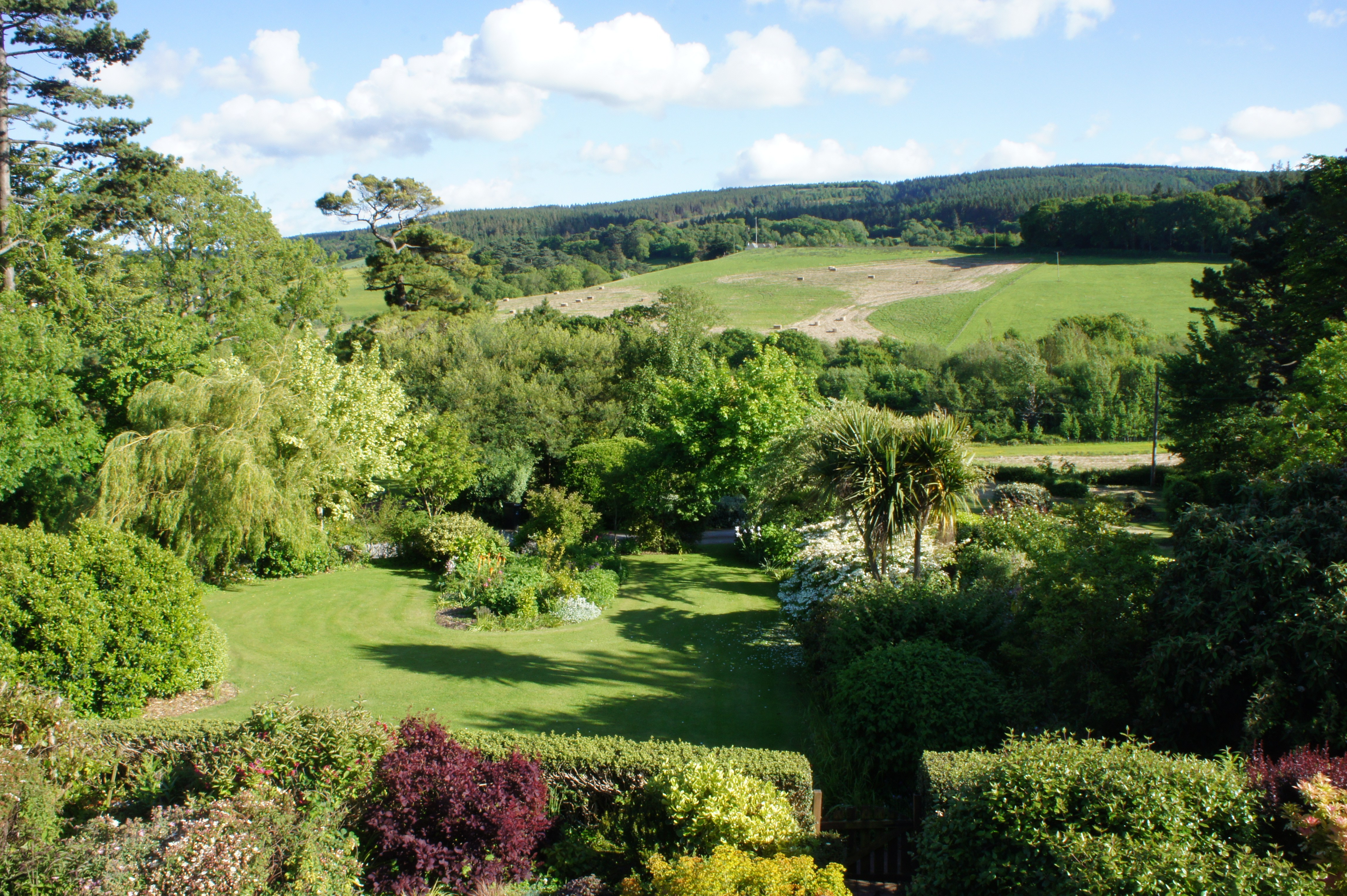 View of Woodcombe Lodges Gardens