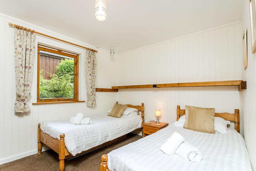 Cherry Tree Twin Bedroom