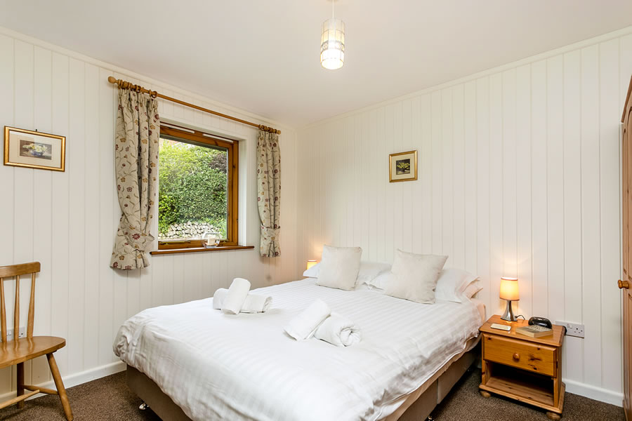 Cherry Tree Lodge Double Bedroom
