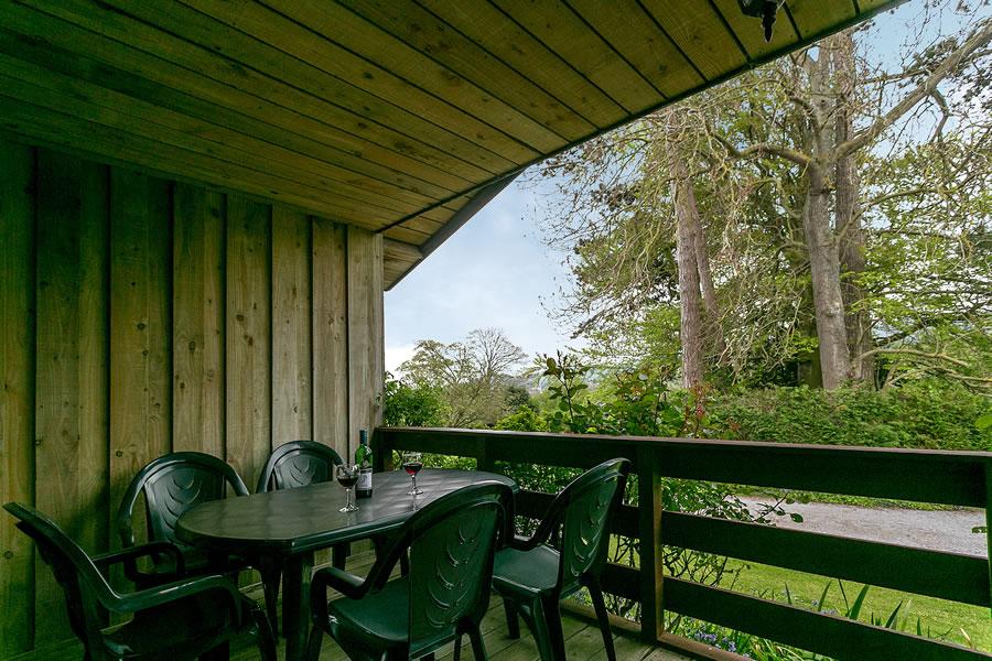 Cherry Tree Lodge Balcony