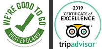 trip advisor award and visit-britain